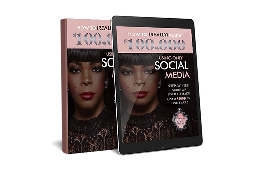 HOW TO (REALLY) MAKE 100K USING ONLY SOCIAL MEDIA!