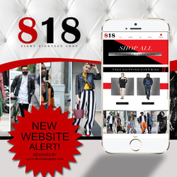 ONLINE BOUTIQUE WEB DESIGN