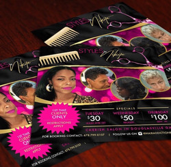 Hair Flyer Designs