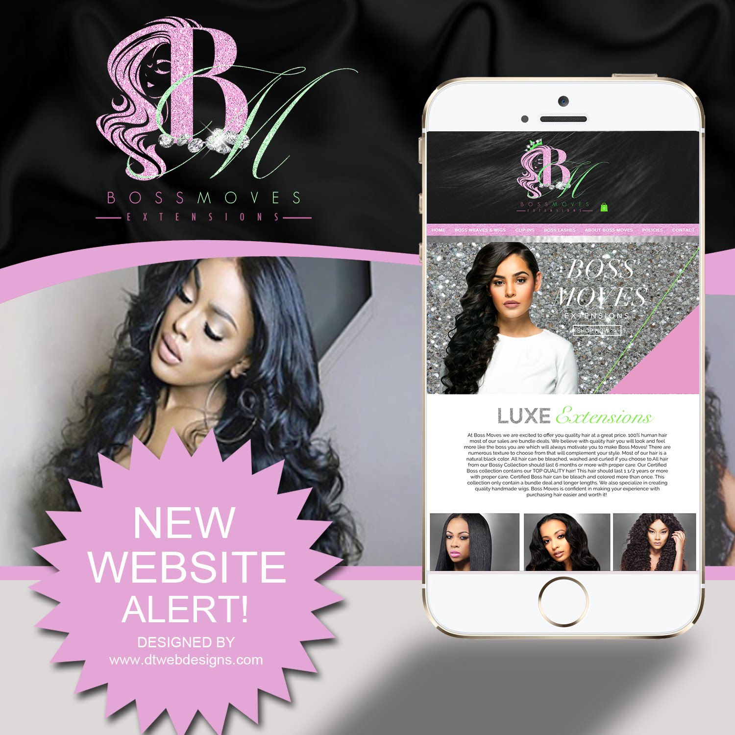 LUXURY HAIR SITES