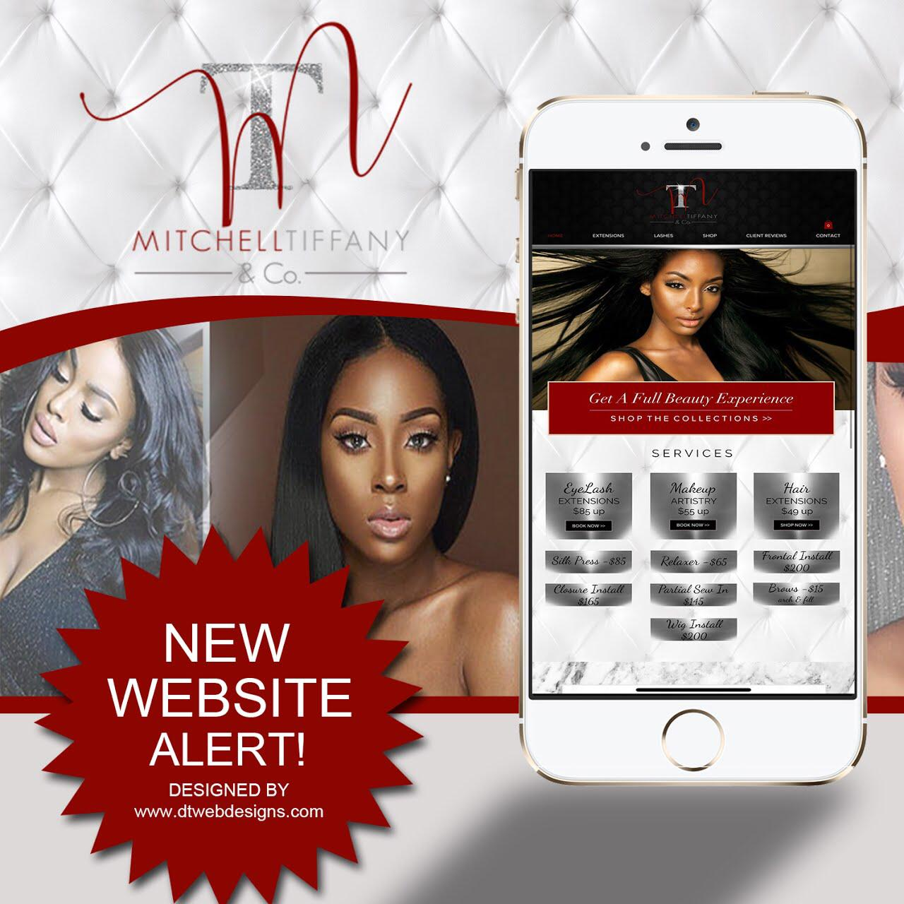 LASH, MUA, & HAIR WEBSITE