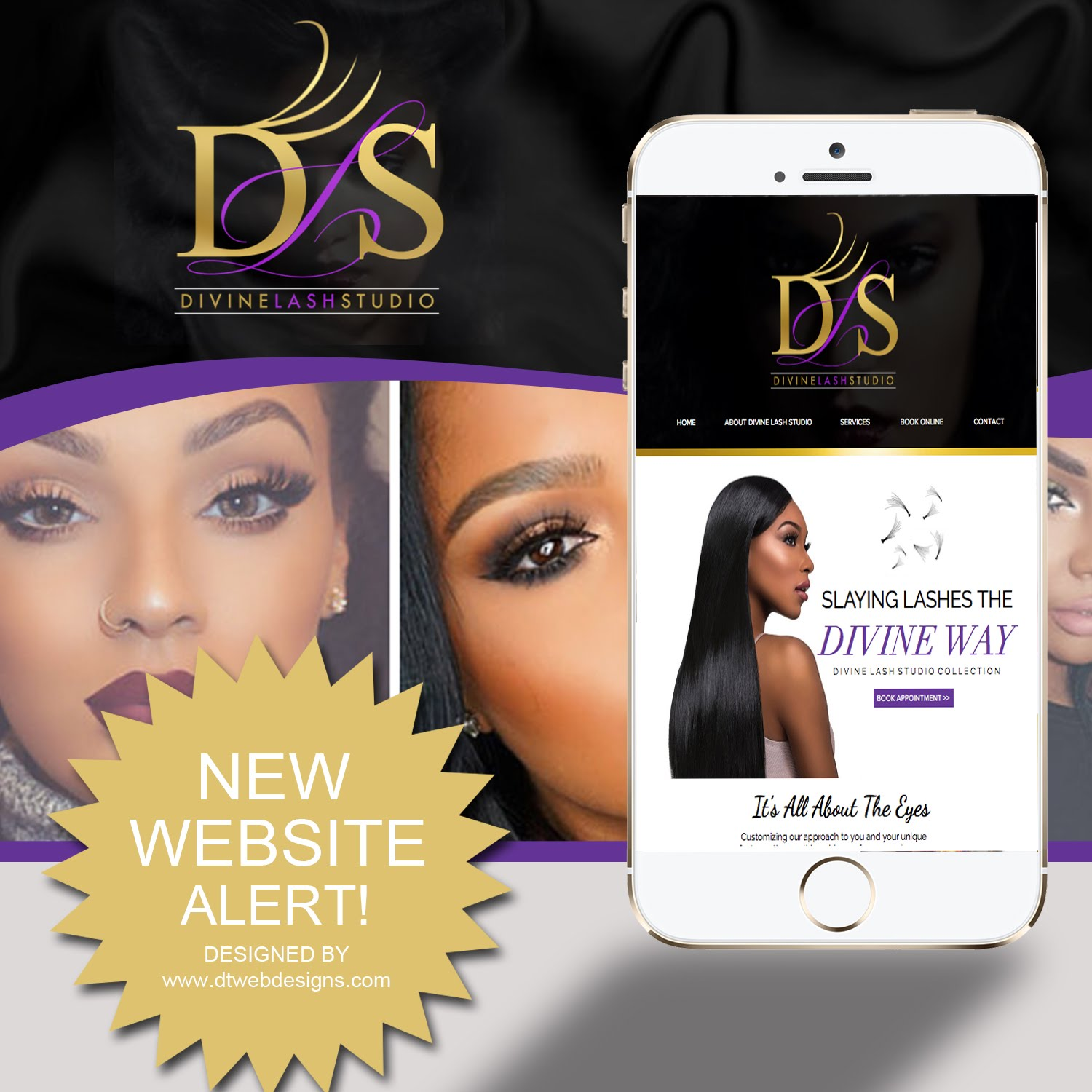 LASH WEBSITES