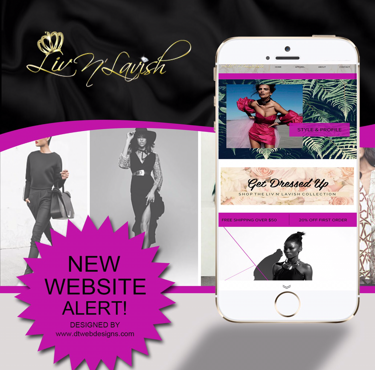 FASHION BOUTIQUE SITES