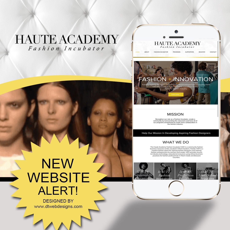 MODELLING ACADEMY WEB DESIGN