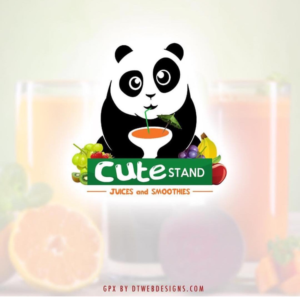 SMOOTHIE BUSINESS LOGO DESIGNS