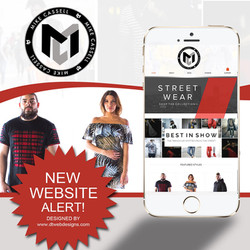 MENS FASHION WEBSITE DESIGN