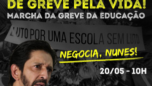 Marcha da Greve da Educação