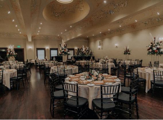 Parkview Ballroom Photographed by Maiko Media