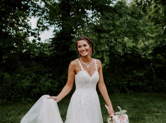 Lace Wedding Dress with Straps BW.jpg