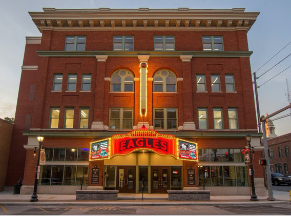 Front of Eagles Theatre