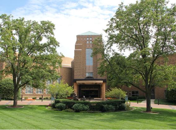 Front of Honeywell Center