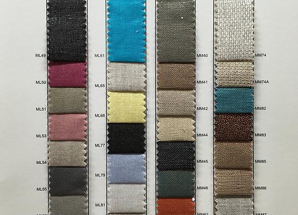 Miramar Metallic Linen