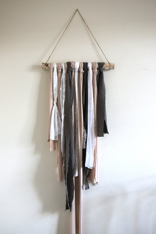 Driftwood Fabric Hanging Wall Art