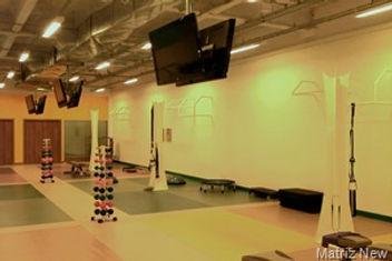 estrutura audiovisual para academias