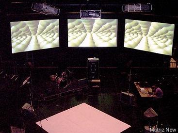 projeção video e sonorização