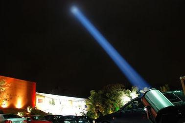 canhão de luz