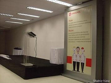 palco para palestras
