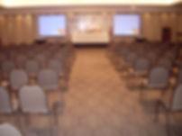 Projeção em auditório