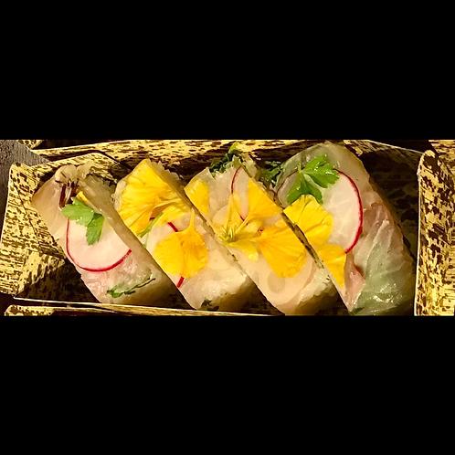白身魚の押し寿司(8個入り)
