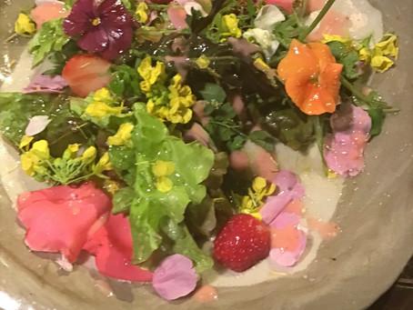 春の花サラダ