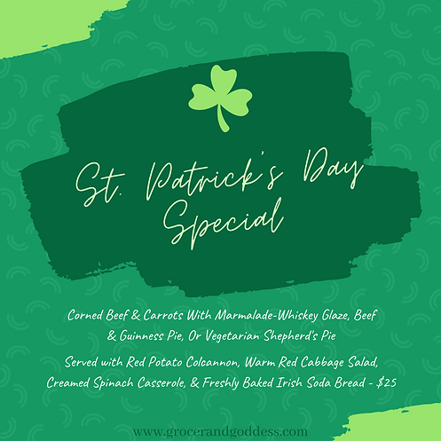 Simple Green St. Patrick's Day Instagram