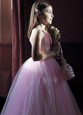 """Платье бальное """"розовый"""""""