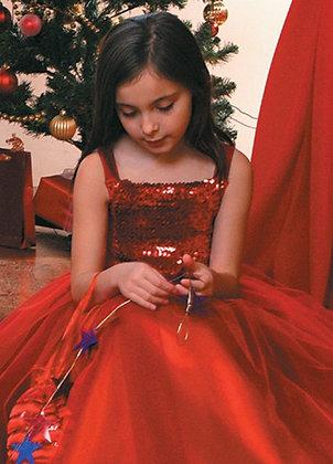 """Платье бальное """"красный"""""""