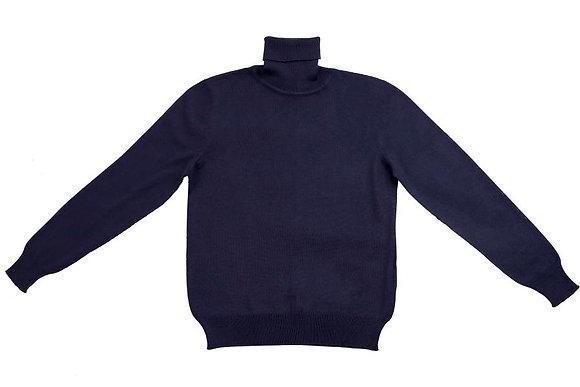 Школьный гольф темно-синий