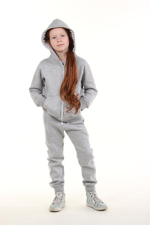 Спортивный костюм (серый с блеском)