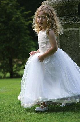 Платье бальное айвори