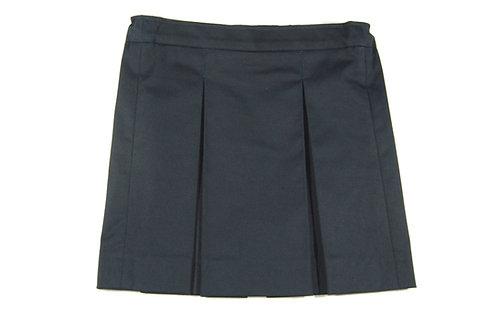 Школьная юбка темно-синий коттон