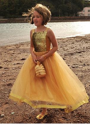 """Платье бальное """"золото"""""""
