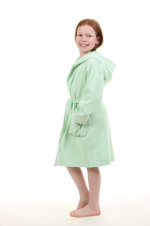 Халат детский светло-зеленый