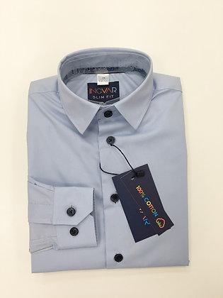 Школьная рубашка INGVAR голубая
