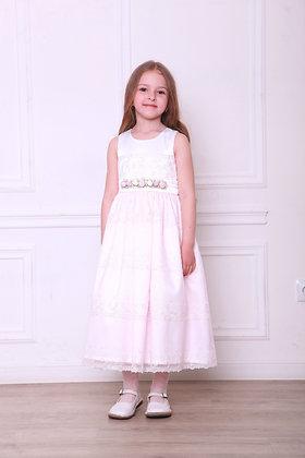 """Платье """"Розочки"""" нежно-розовое"""