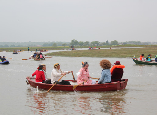Faversham Creek Rowing Race
