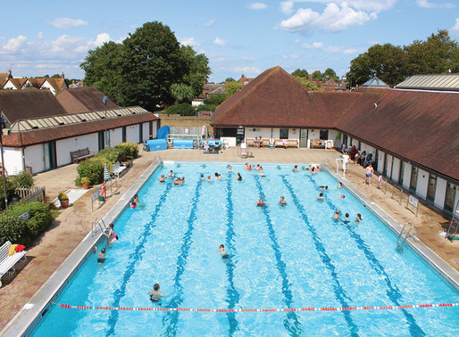 Faversham Pool gets a Heating Grant