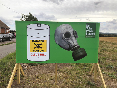 CLEVE HILL PROTESTS CONTINUE