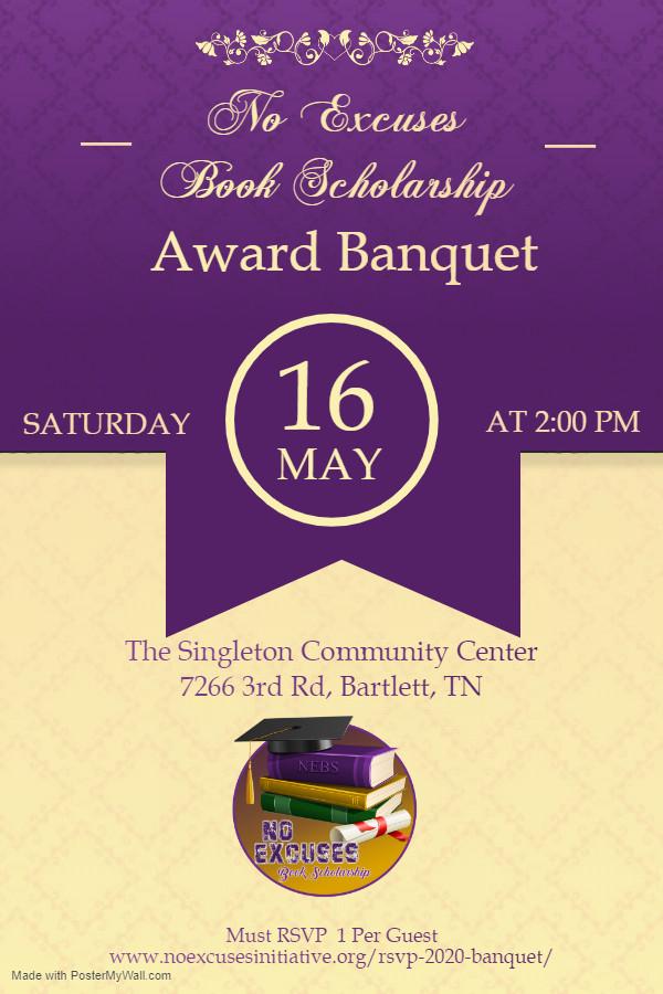 Copy of Banquet Hall Party Invitation Po