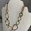 Thumbnail: Gold Linked Necklace Set