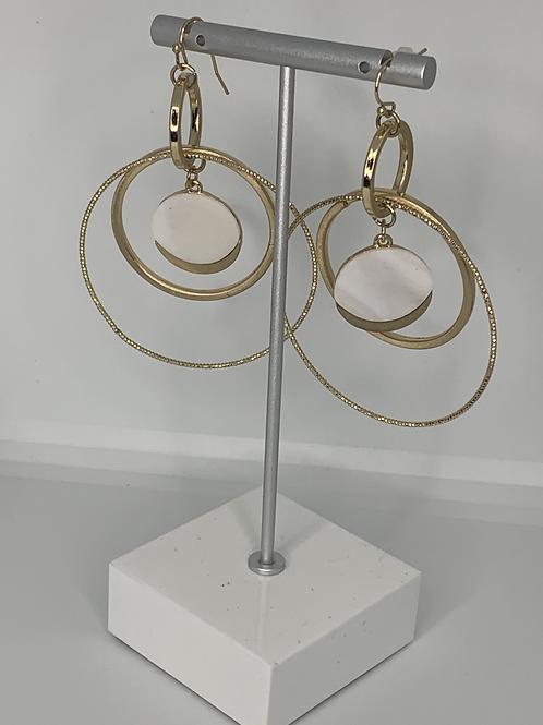 Layered Double Hoop Earrings
