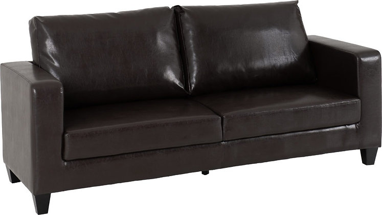 Lucy 3 Seater - Faux Leather