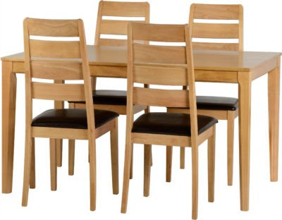 Logan Small Dining Set – 4 Chairs