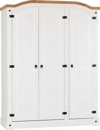 Corona Style 3 Door Wardrobe