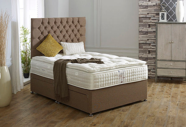 5ft Luxor Divan Set - 3000 Pocket Sprung