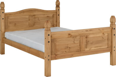 Corona 5' Bed High Foot End