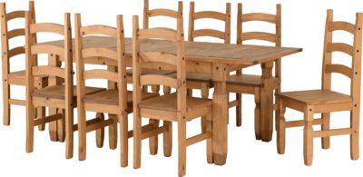 Corona Extending Dining Set (8 Chairs)