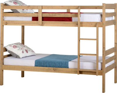 Panama 3' Bunk Bed - Pine