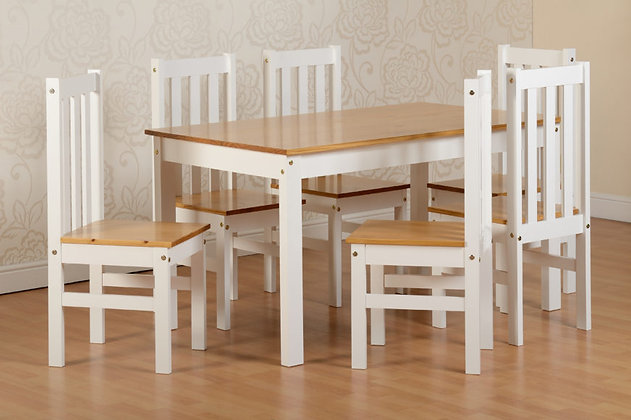 Ludlow  Dining Set + 6 Chairs