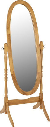 Contessa Cheval Mirror - Antique Pine